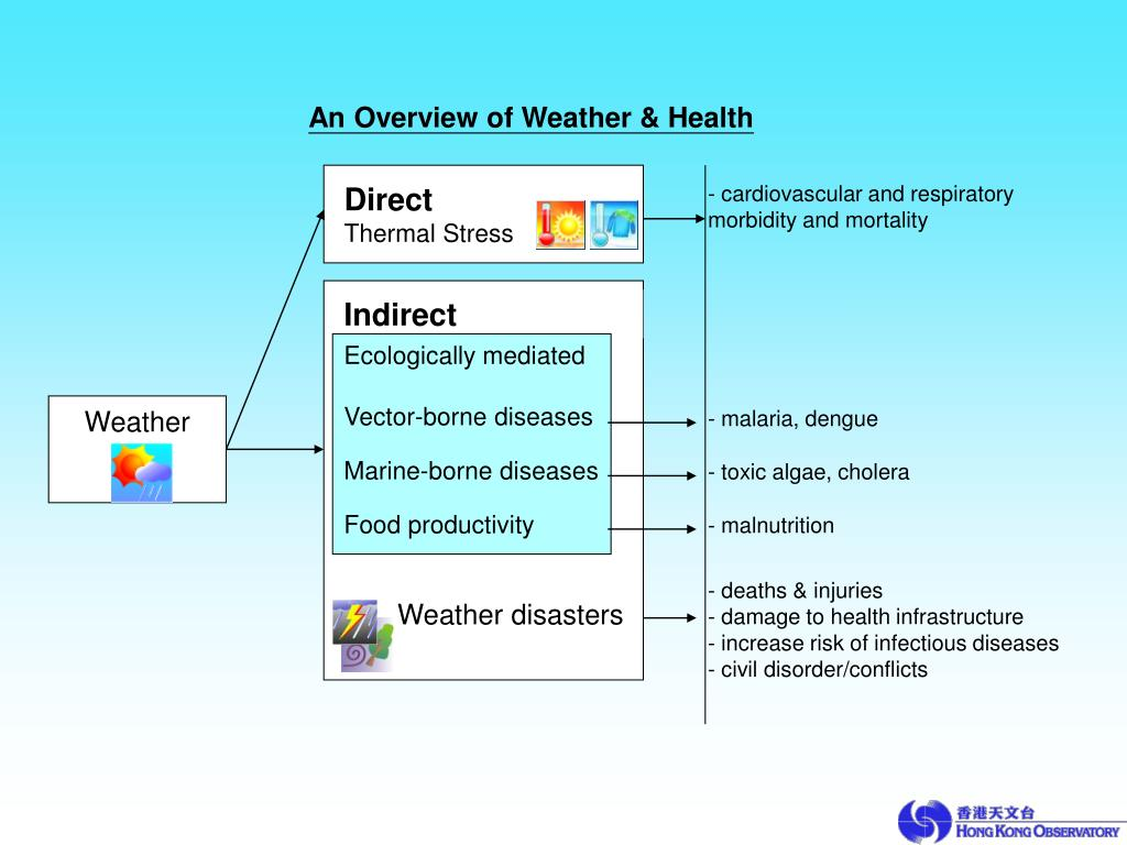 An Overview of Weather & Health