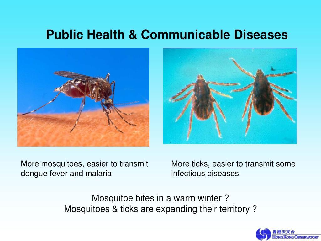 Public Health & Communicable Diseases