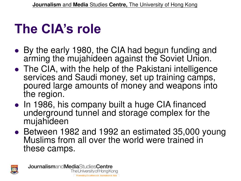The CIA's role