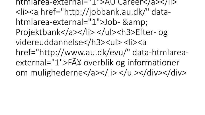 """<div class=""""mdd_column""""><div id=""""c13763"""" class=""""csc-default"""" class=""""csc-default""""><h3>Karriereservices</h3><ul> <li><a href=""""http"""