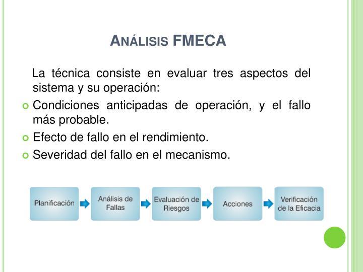Análisis FMECA