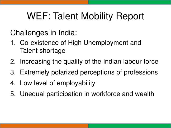 WEF: Talent Mobility Report