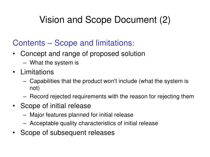 Vision and Scope Document (2)