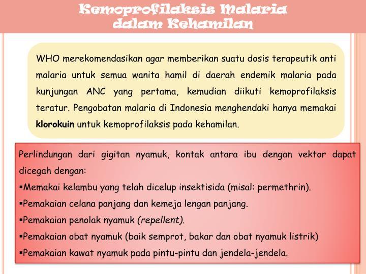 Kemoprofilaksis