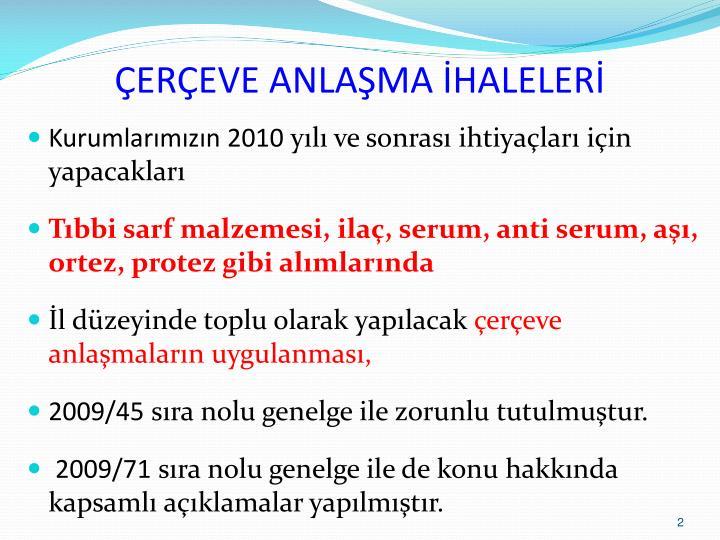 EREVE ANLAMA HALELER