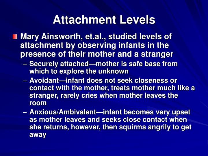 Attachment Levels