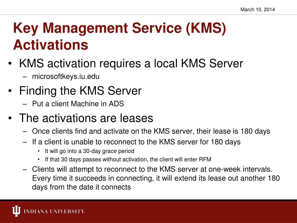 Key Management Service (KMS)