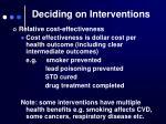 deciding on interventions5