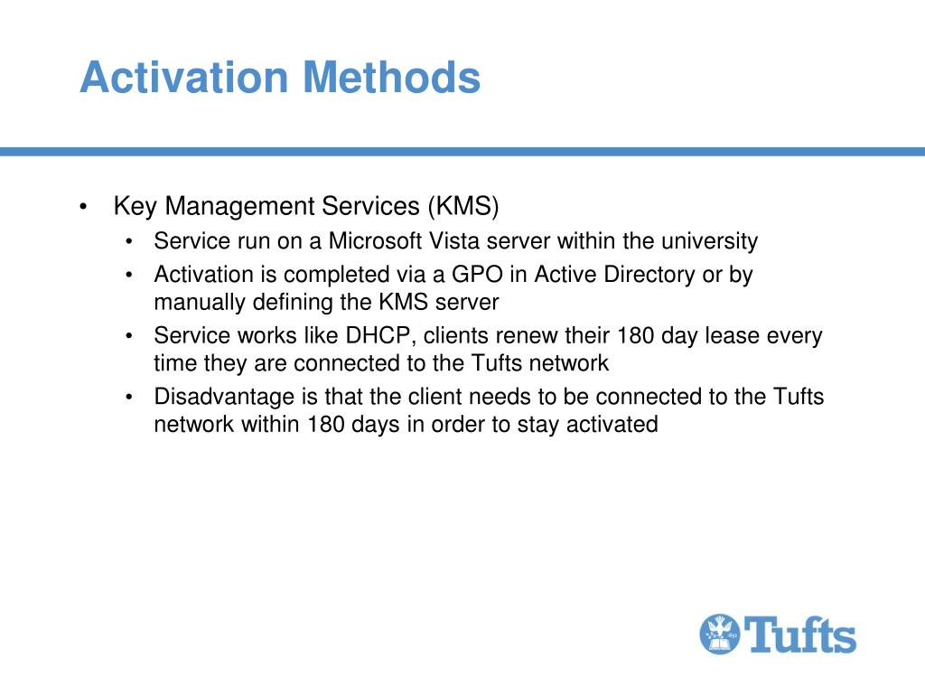 Activation Methods