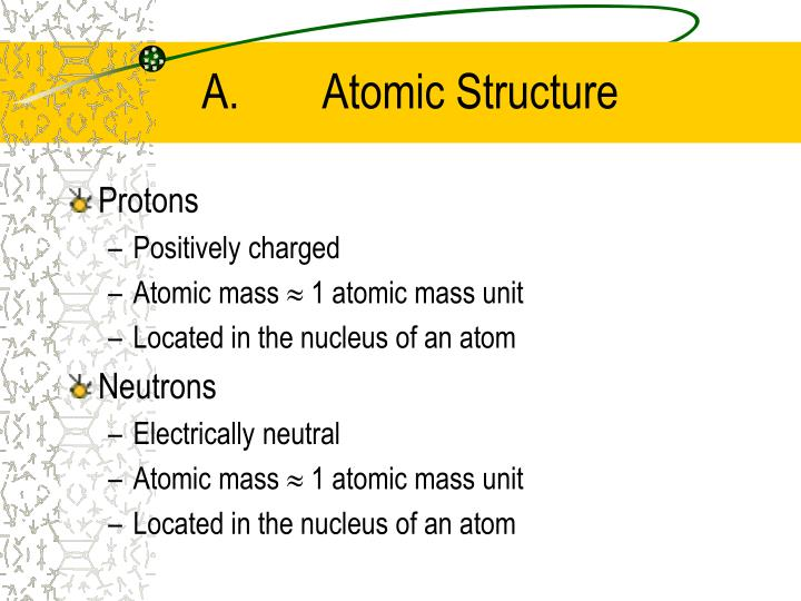 A. Atomic Structure