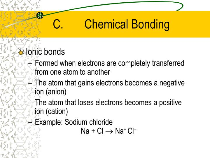 C.Chemical Bonding