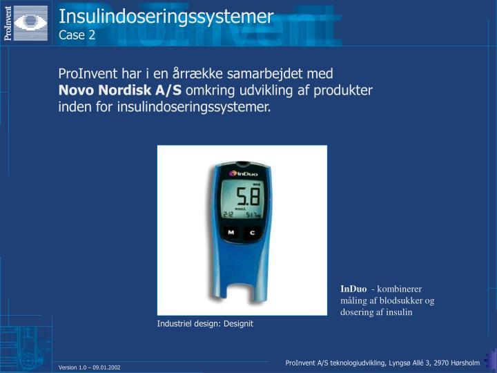 Insulindoseringssystemer