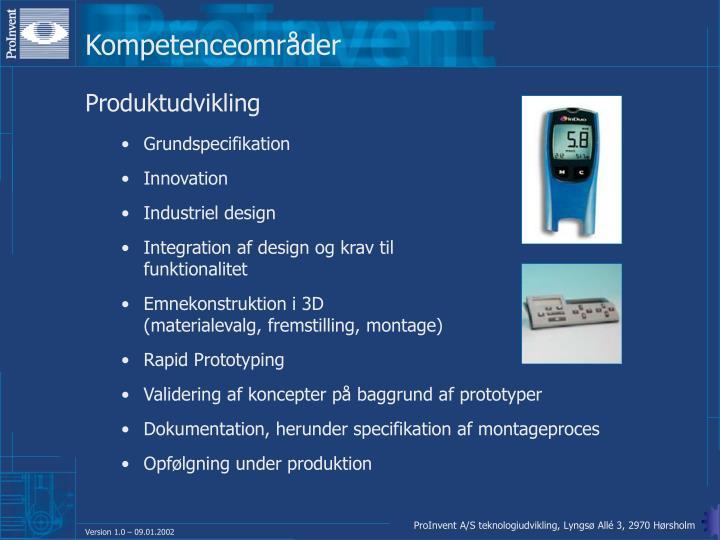 Kompetenceområder