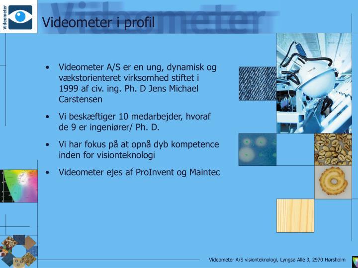 Videometer i profil