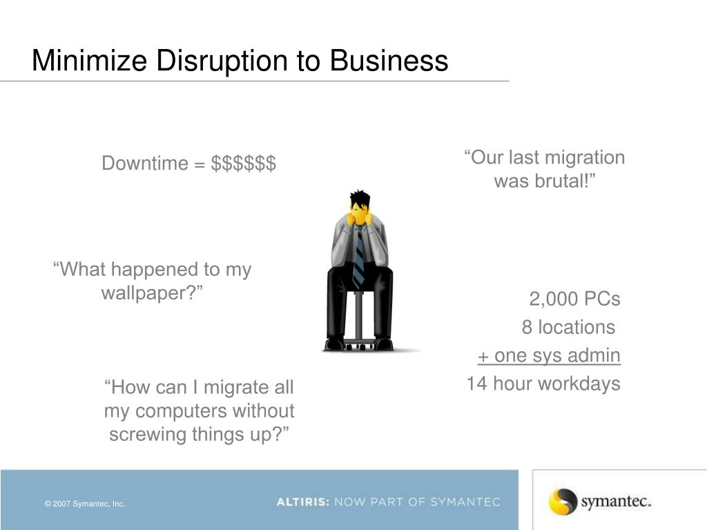 Minimize Disruption to Business