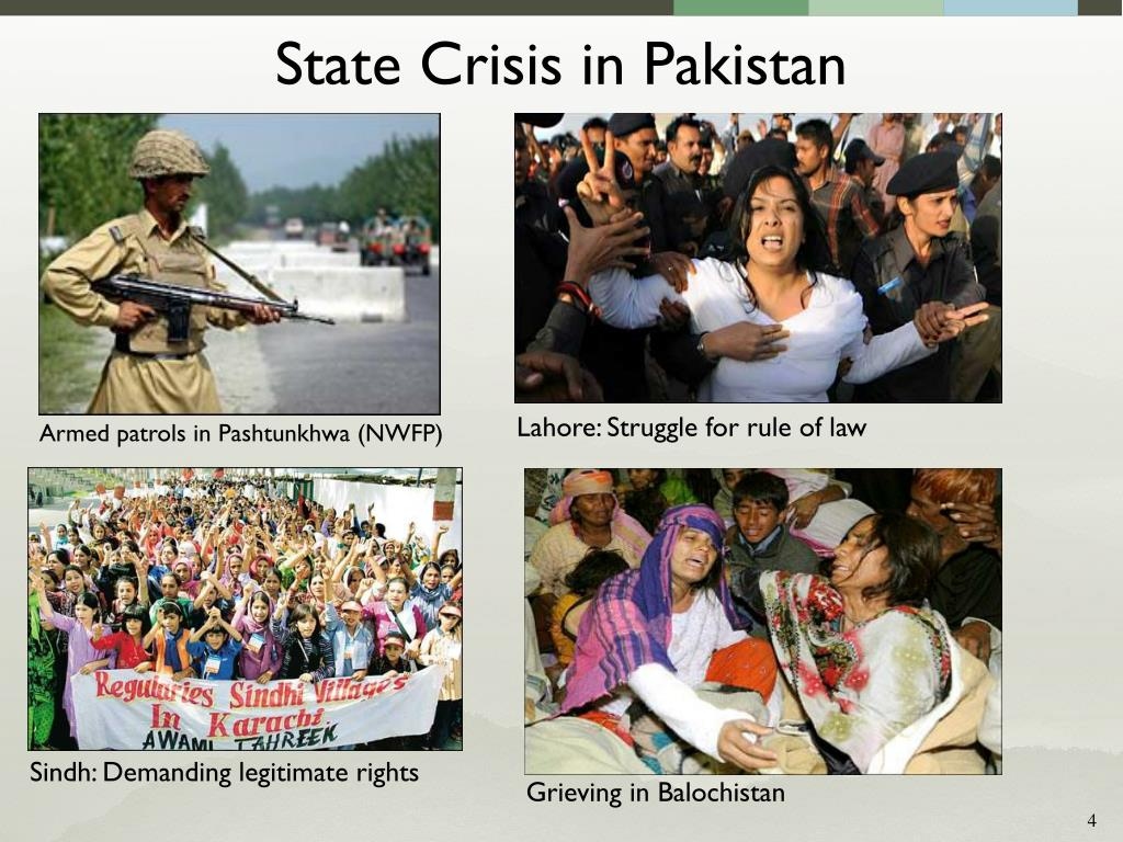 State Crisis in Pakistan