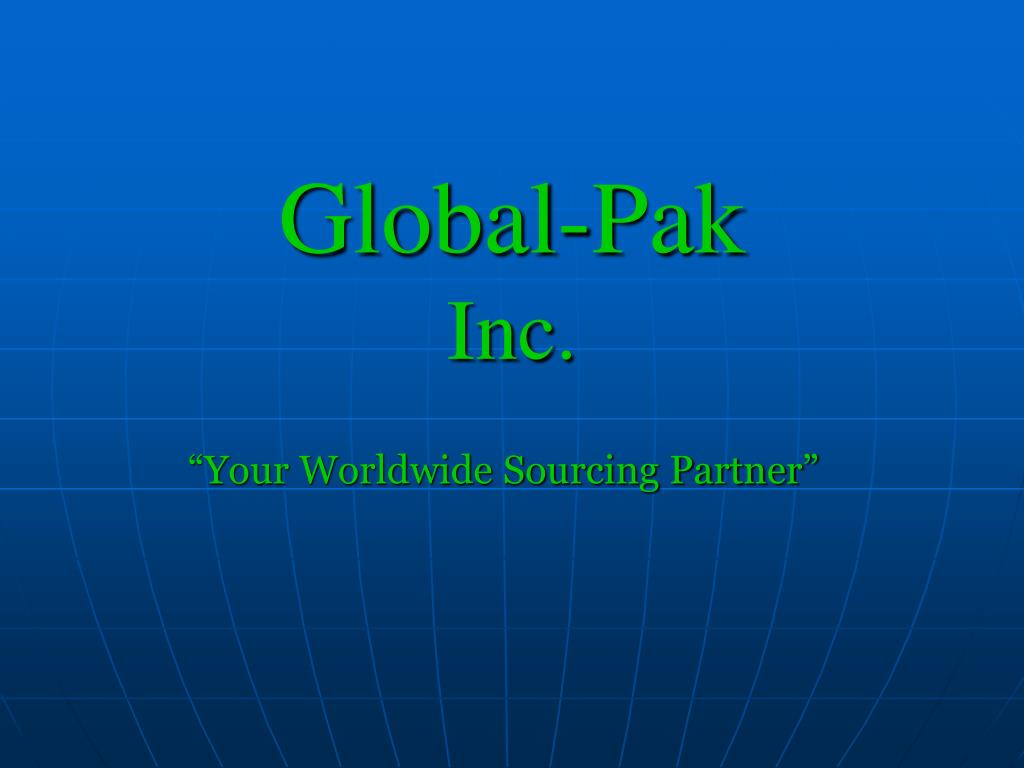 global pak inc