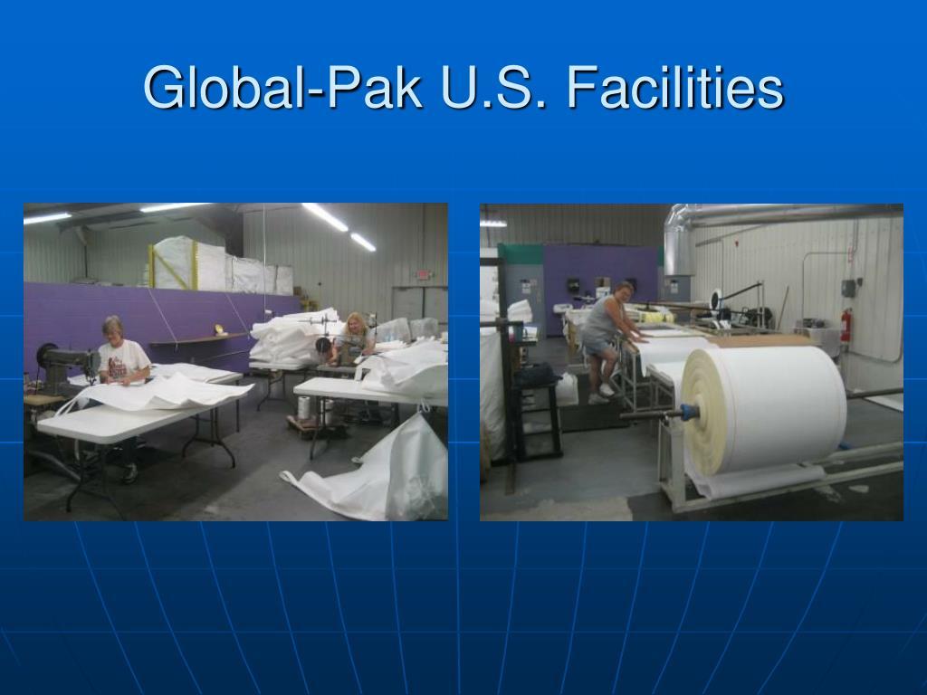 Global-Pak U.S. Facilities
