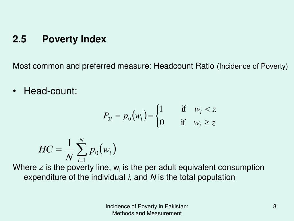 2.5Poverty Index