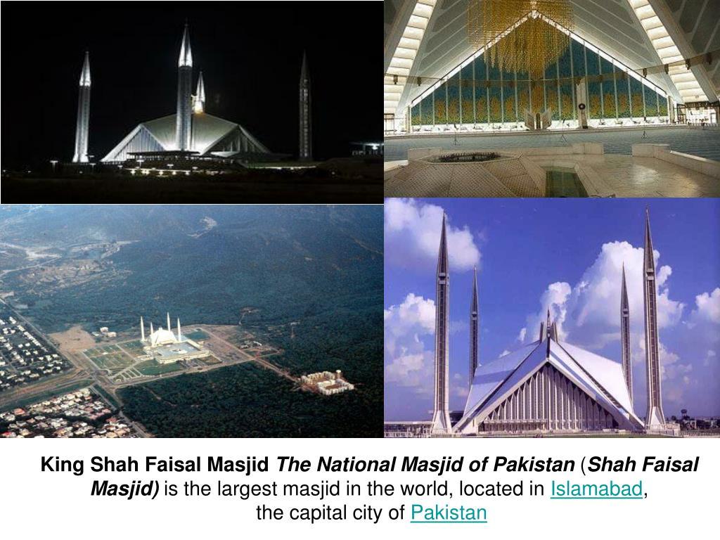 King Shah Faisal Masjid