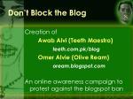 don t block the blog17