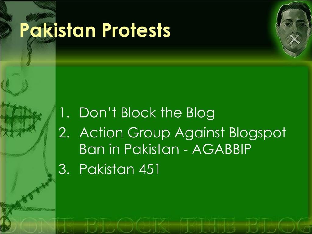 Pakistan Protests