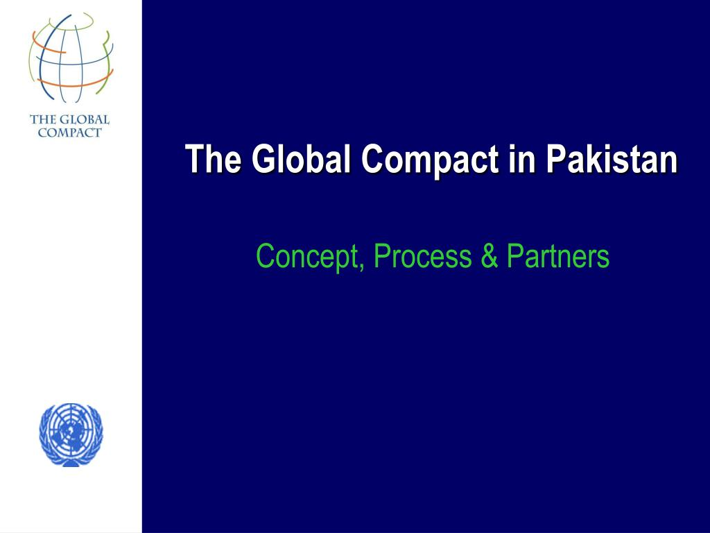 The Global Compact in Pakistan
