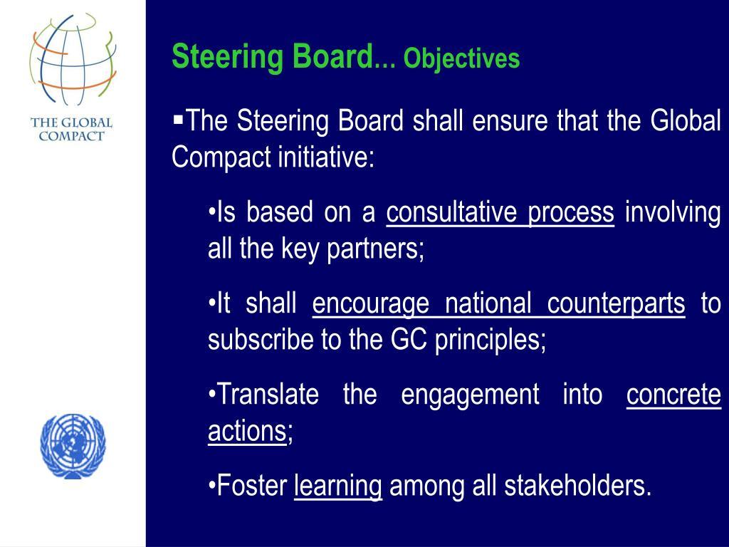 Steering Board