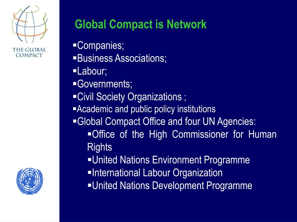 Global Compact is Network