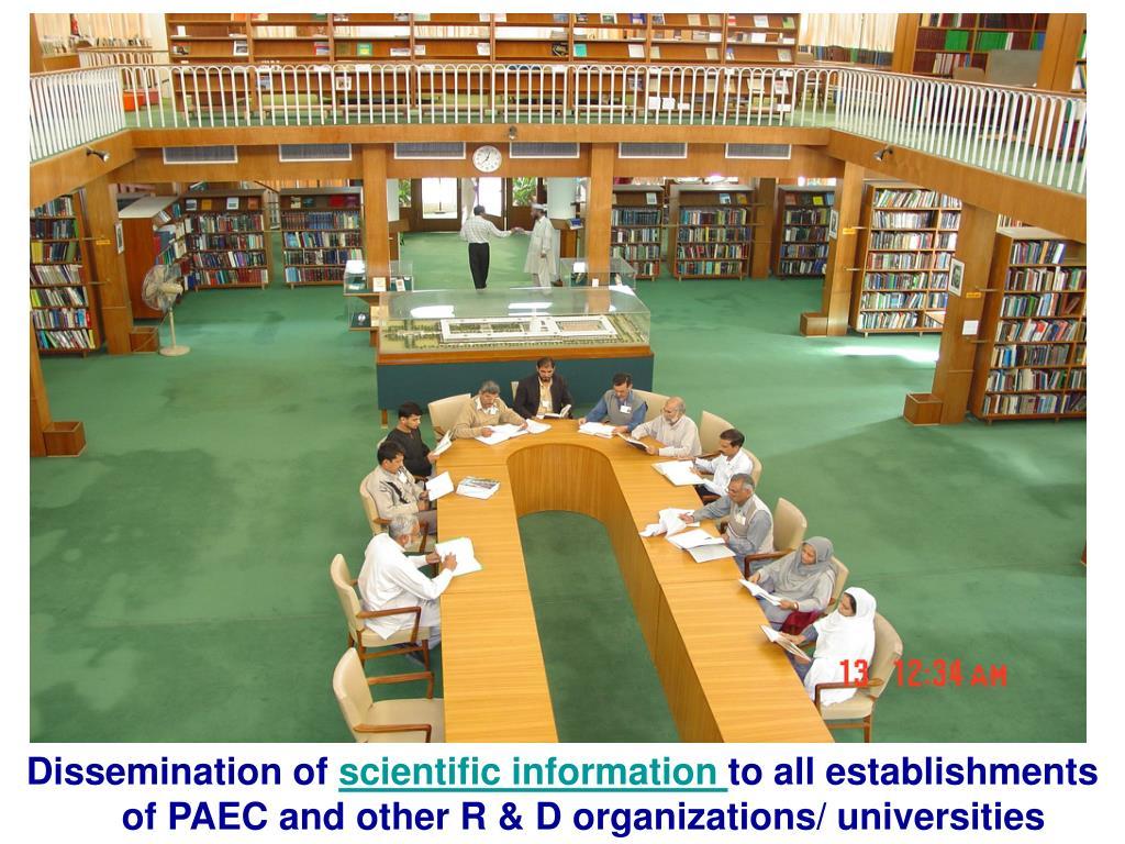 Dissemination of