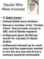 saudis who were involved26