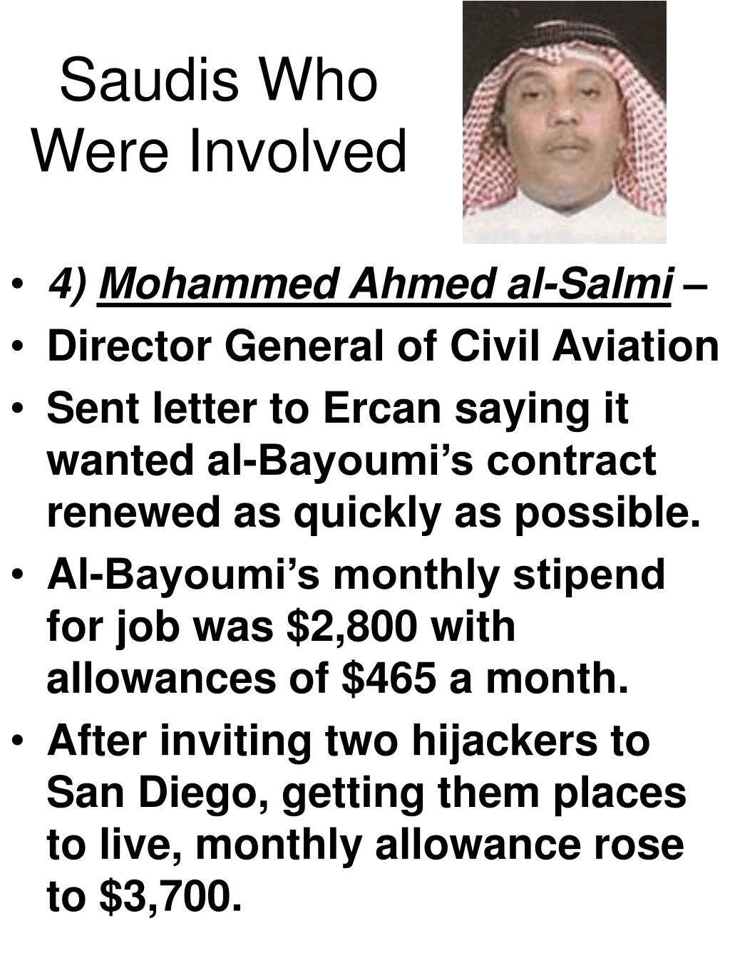 Saudis Who Were Involved