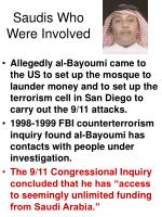 saudis who were involved28