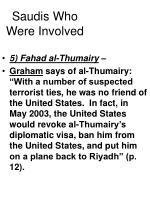 saudis who were involved30