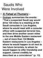 saudis who were involved31