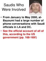 saudis who were involved32