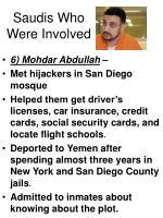 saudis who were involved33