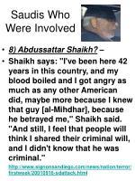 saudis who were involved42