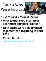 saudis who were involved46