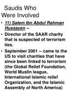 saudis who were involved49
