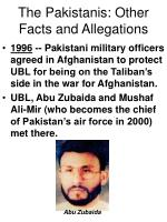 the pakistanis other facts and allegations57