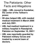 the pakistanis other facts and allegations58