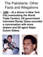the pakistanis other facts and allegations59