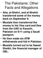 the pakistanis other facts and allegations64