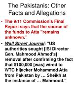 the pakistanis other facts and allegations65