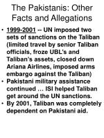 the pakistanis other facts and allegations68