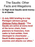 the saudis other facts and allegations8