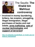 the saudis the khalid bin mahfouz controversy10