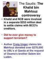 the saudis the khalid bin mahfouz controversy12