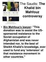 the saudis the khalid bin mahfouz controversy13